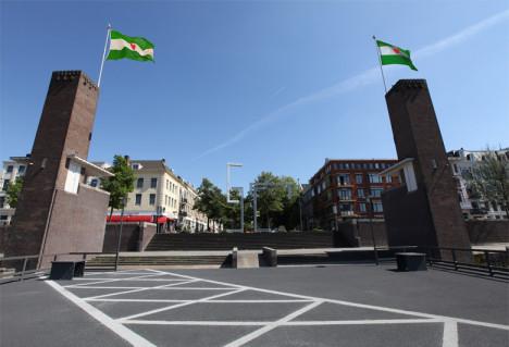 De Noordereiland vlag