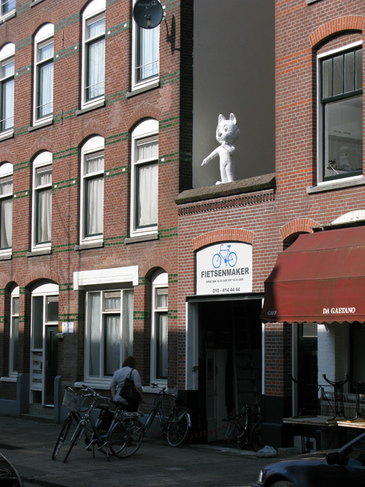 Tom Poes in de Thorbeckestraat