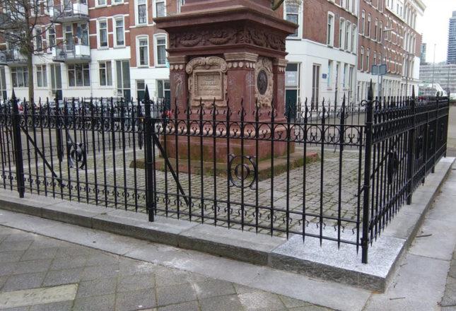19de-eeuws Hekwerk op het Burgemeester Hoffmanplein gerealiseerd!