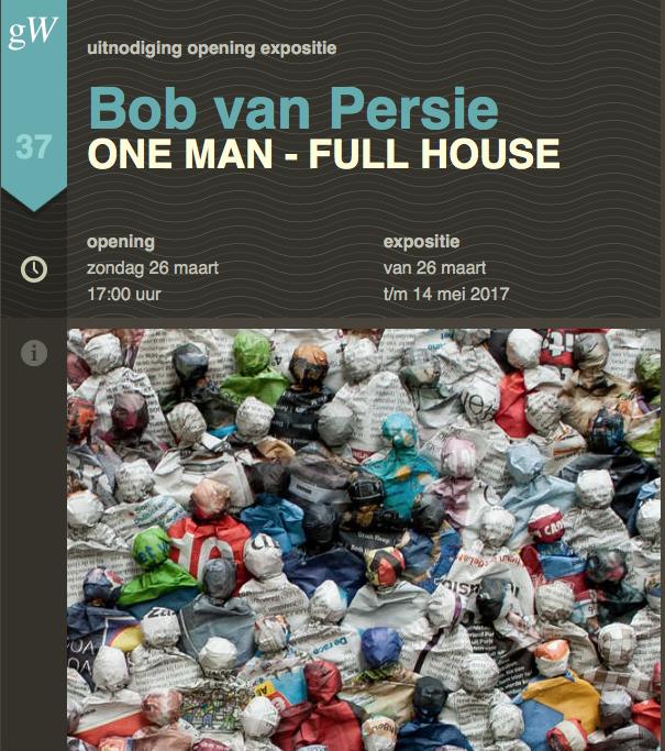 Expositie Bob van Persie