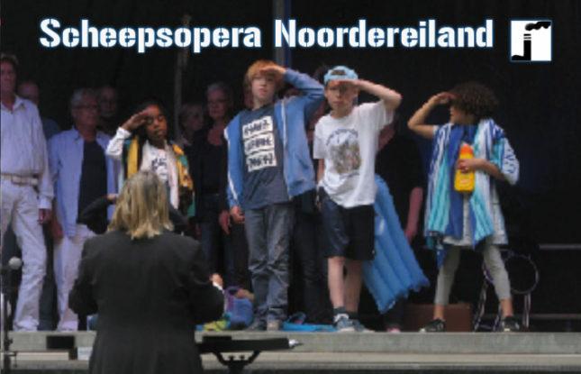 Uitvoering Scheepsopera Noordereiland
