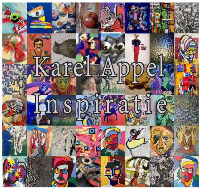 Karel Appel inspiratie