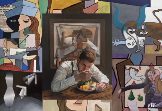 Picasso 1917 Interpretaties