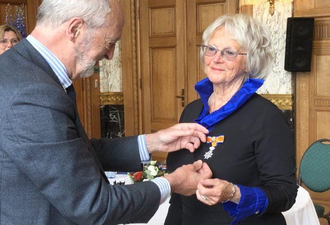 Onderscheiding Marjo Stenfert Kroese
